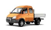 Бортовой автомобиль с двухрядной кабиной ГАЗ-33023