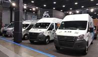 Горьковский автозавод представляет на Петербургском автосалоне широкий модельный ряд автомобилей семейства NEXT