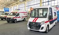 Горьковский автозавод представляет медицинские автомобили на выставке в Узбекистане