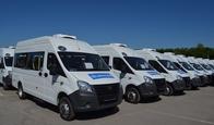 Торжественное вручение автобусов марки ГАЗ